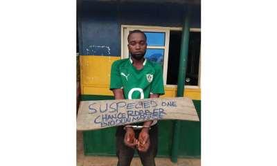 One-chance robber arrested in Ogun