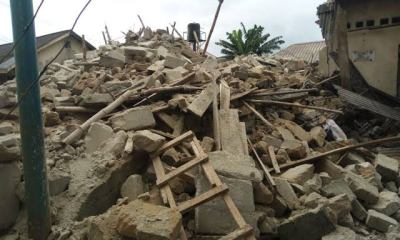 Collapsed buildings: Lagos marks 100 houses for demolition in Magodo