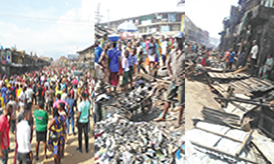 Anambra explosion: Market shut as traders count losses
