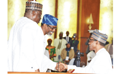 Restructuring: Only National Assembly can conduct exercise – Buhari