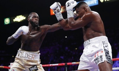Boxing: Wilder stops Ortiz in title rematch