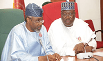 Lawan, Gbajabiamila fight for ex-legislative aides' severance pay