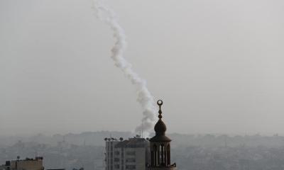 Israel kills Gaza gunman, militants fire rockets as violence continues