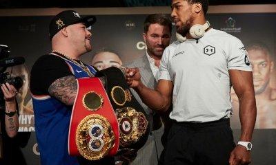 Joshua v Ruiz II: 'I'm punching like a horse kick'