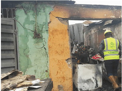Fire destroys shops, goods at Mile 12 market - New Telegraph Newspaper