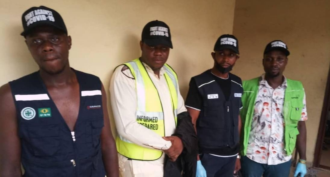 COVID-19: Four health official imposters nabbed with fake sanitizers in Anambra - New Telegraph Newspaper