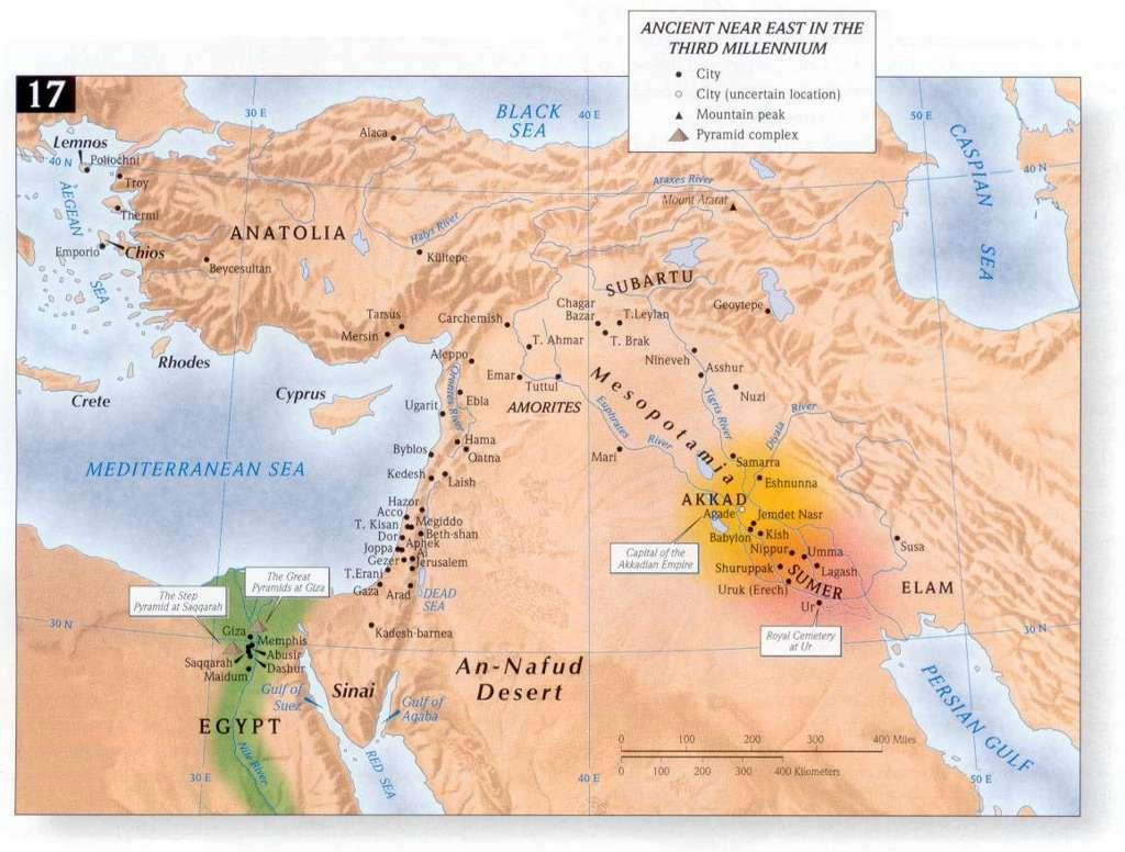 Bible Land Maps