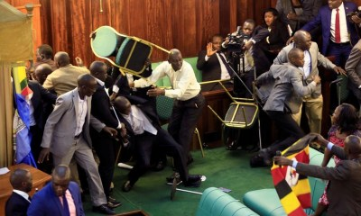 Uganda: Parliamentarians fight dirty over presidential age limit