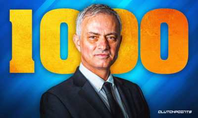 I Was Scared Of Losing My 1,000th Career Game - Mourinho