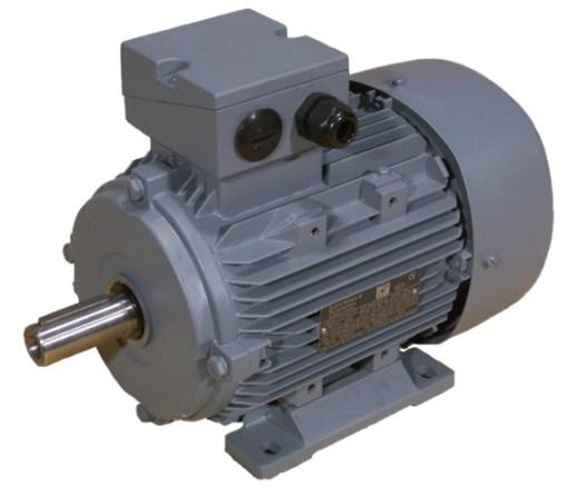 0.37kW Three Phase Motor, 4-pole