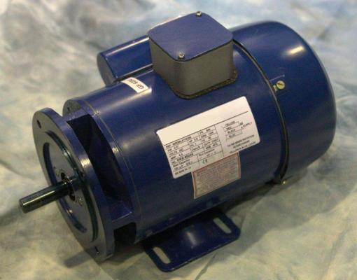 0.37kW 240V Single Phase, 4-pole Totally-Enclosed-Fan-Cooled, Bolted Foot & flange