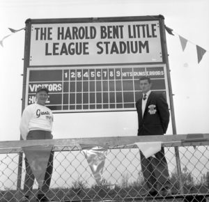 Harold Bent Little League Stadium now Unwin Park