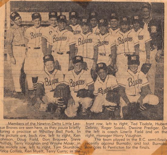 Newon Delta Baseball Braves