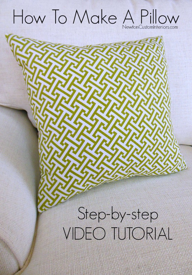 how to make a pillow newton custom