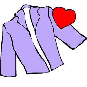 Image result for wearing your heart on your sleeve clipart