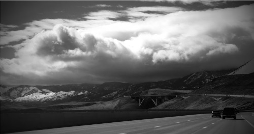 Storm clouds, Washoe Valley, Nevada, NV.