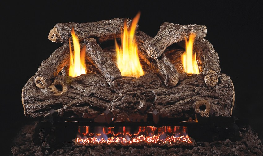 real fyre golden oak series gas logs vent free up - Real Fyre Gas Logs
