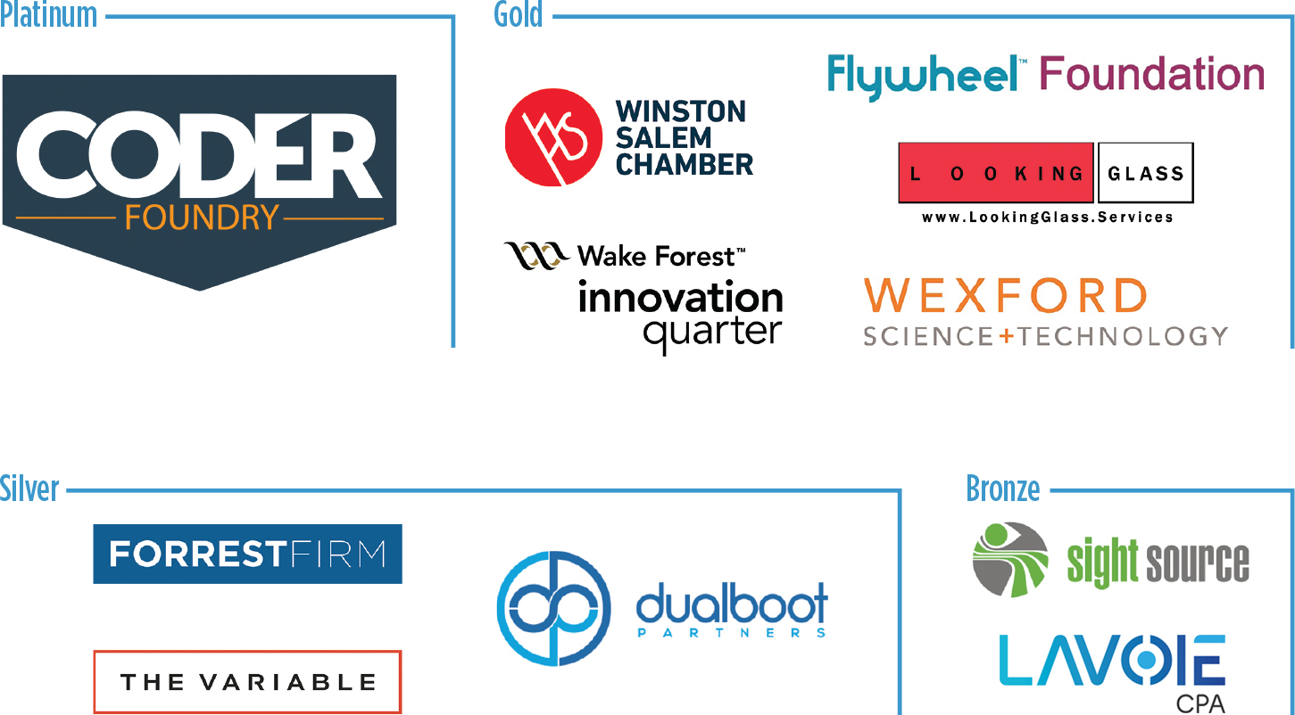 event sponsor logo block