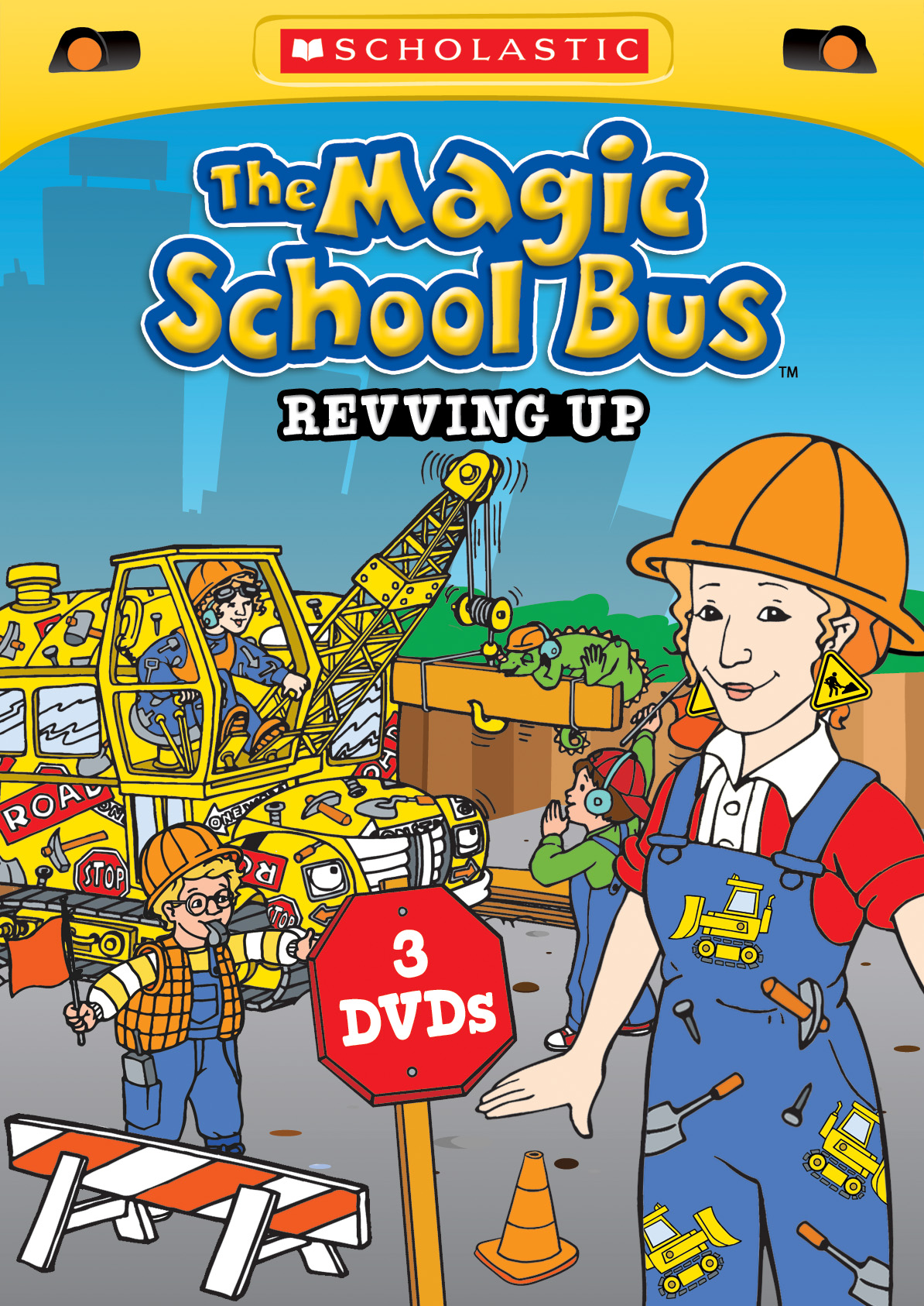 Review And Giveaway The Magic School Bus Revving Up 3 Dvd
