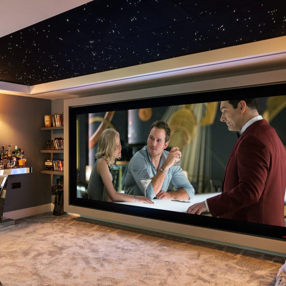 Amazing Garage Conversion Cinema Sussex