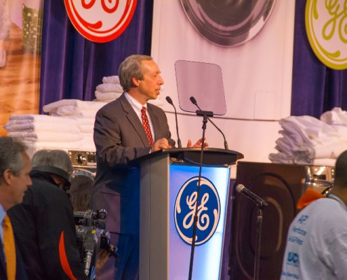 GE washer dryer event