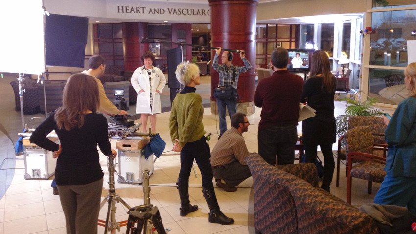 Floyd Memorial Hospital Commercial Shoot