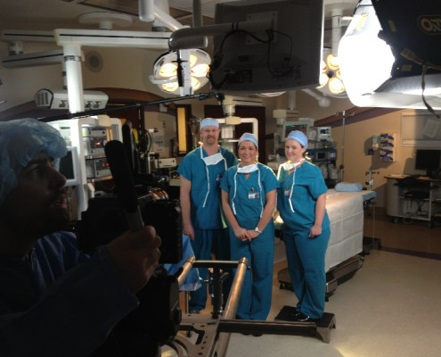 Floyd Memorial Heart Center Shoot Cath Lab