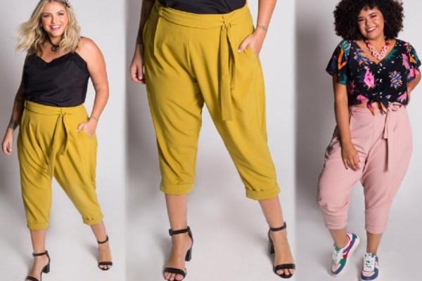 Какие летние брюки для полных девушек и женщин модные в ...
