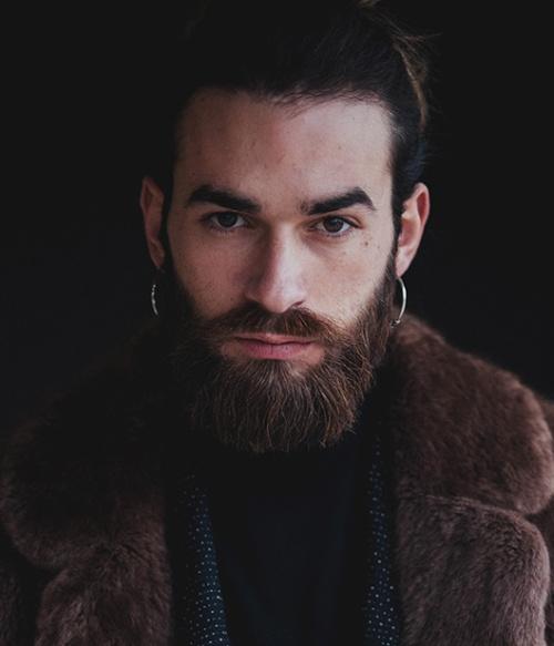 Мужские прически с бородкой как выглядят модные тренды