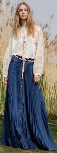 Модная джинсовая женская одежда 2017 - на зиму, весну ...