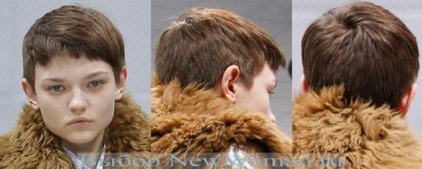 Фото модных женских стрижек для коротких волос Осень-Зима ...