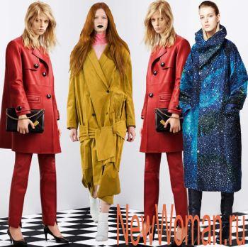 Какие плащи в моде осенью 2016 | Фото модных женских ...