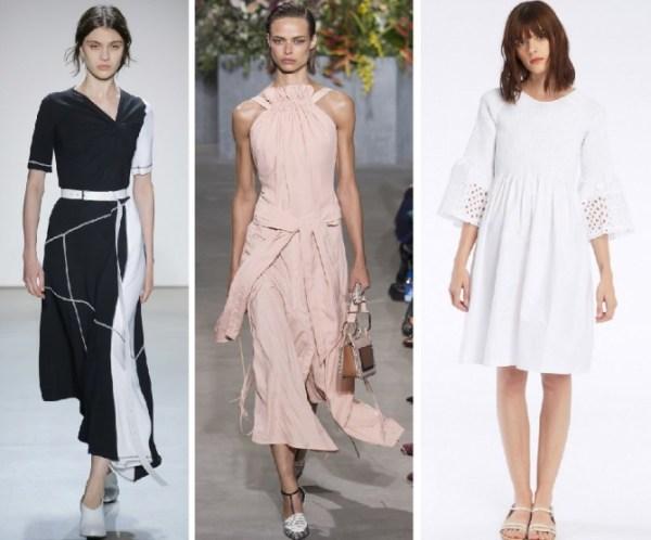 Какие летние платья носили в 2018 году