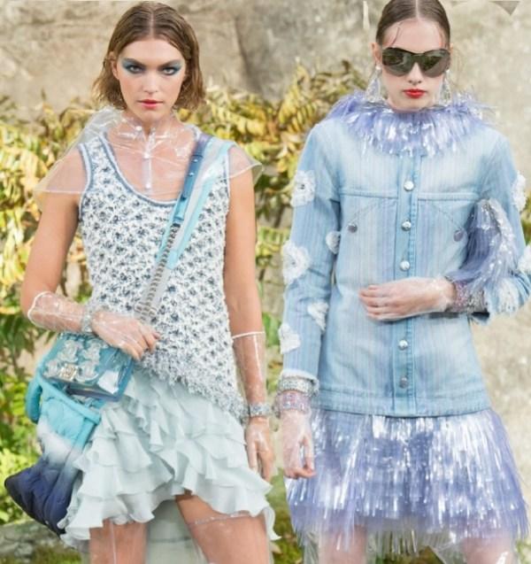 Коллекция женской модной одежды от Шанель на весну и лето ...