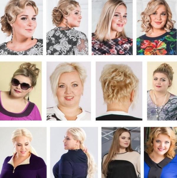 Прически и стрижки для полных девушек и женщин   Фото ...