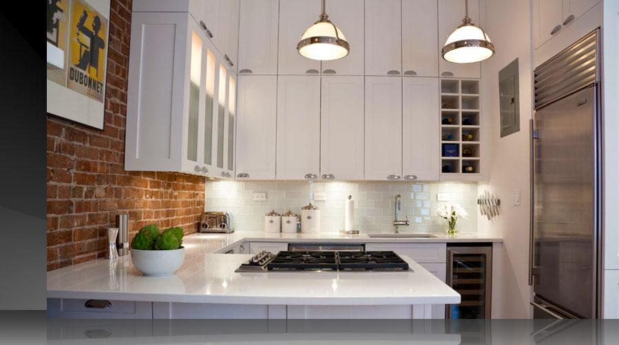 New York Artistic New York City Kitchen Design