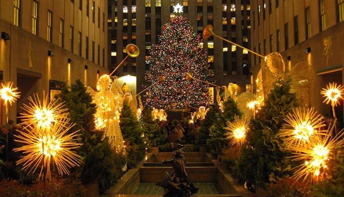 Weihnachtszeit In New York NewYorkCityde