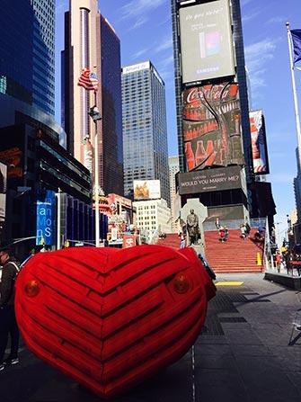 La Saint Valentin New York