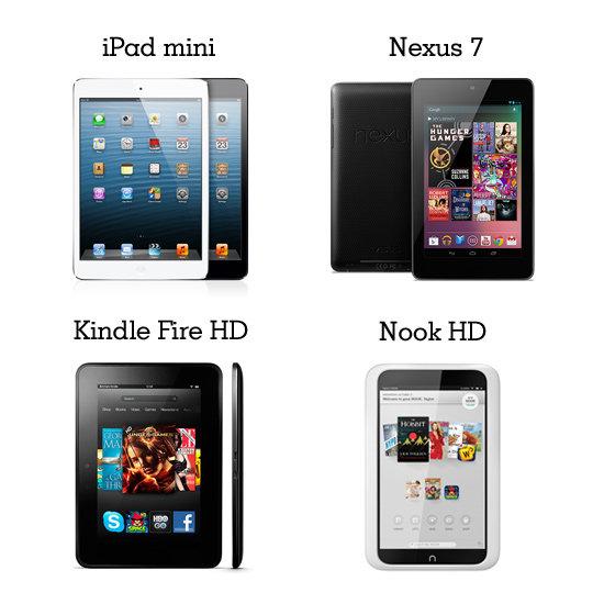 iPad mini review - iPad mini vs Kindle Fire / Kindle Fire HD