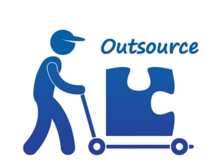 Outsourcing employees for e-commerce