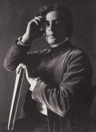 Gibran in 1897. Told he was a mystic—
