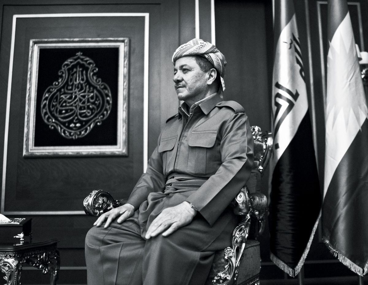 "Masoud Barzani, the President of the Kurdish regional government. In July, he told the Kurdish parliament, ""The time has come to decide our fate, and we should not wait for other people to decide it for us."""