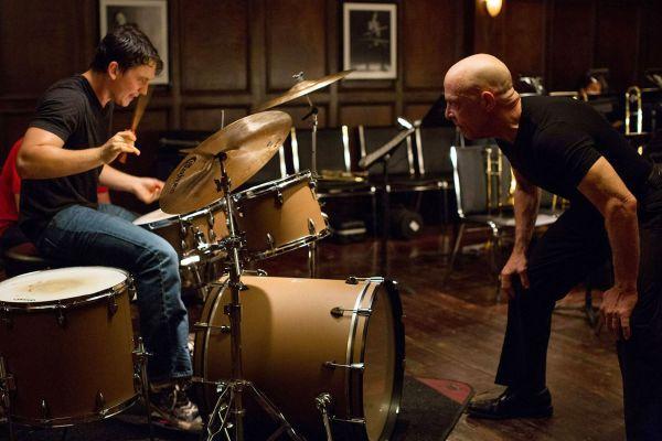 Miles Teller & JK Simmons in Whiplash