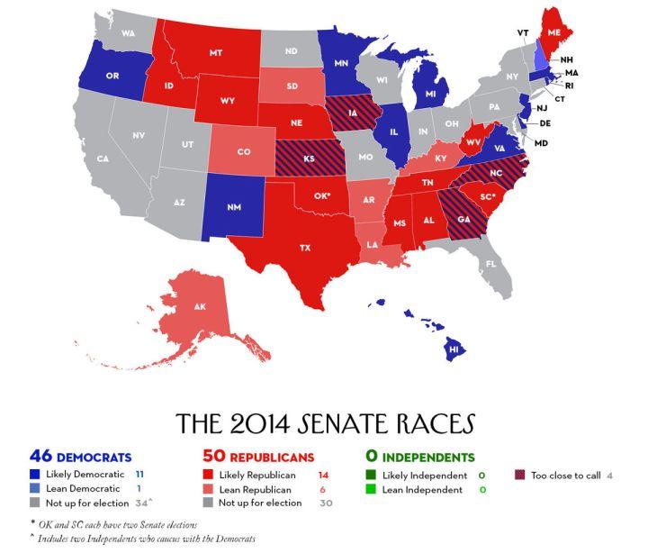 Us Senate Makeup By Year The World Of Make Up - 2017 map of us senate
