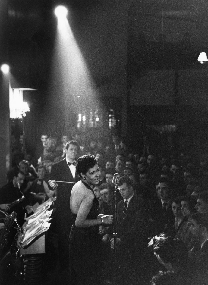 Billie Holiday, like all great artists, is as distinctive, as idiosyncratic, as original off-stage and off-mike as on.