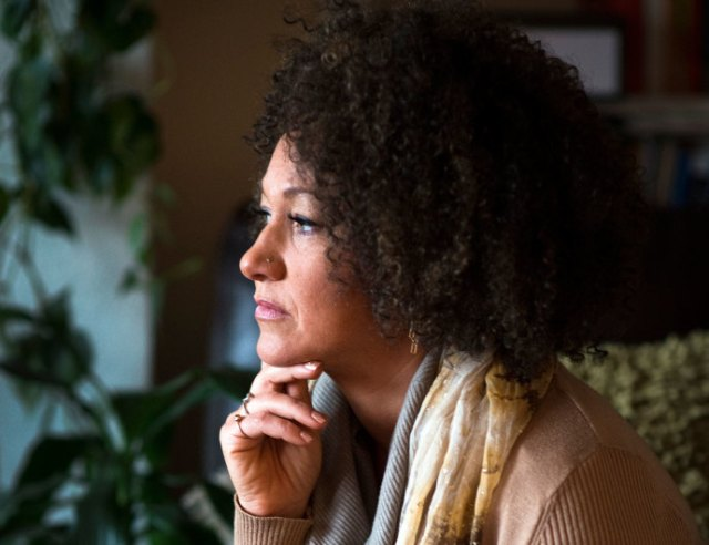Rachel Dolezal, president of the Spokane chapter of the N.A.A.C.P., in March.