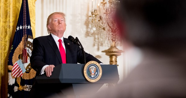 Donald Trump's Alternative-Reality Press Conference - The ...