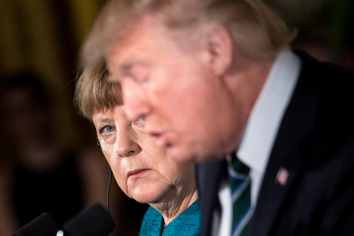 During the past few days, Merkel seemed to have had it with Trump, in some significant measure because of his flashy contempt for the climate deal and for his fellow world leaders.
