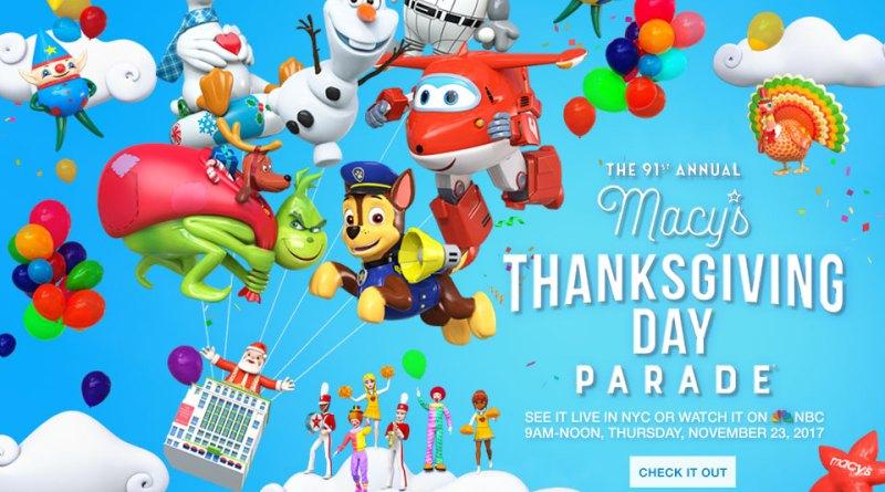 Macys Thanksgiving Parade 2017 NYC