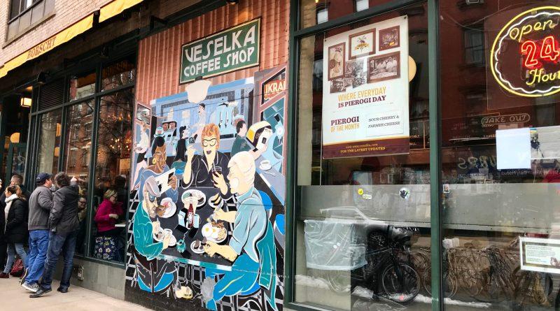Veselka Restaurant: Best Ukrainian Food in NYC! - New Yorker Tips